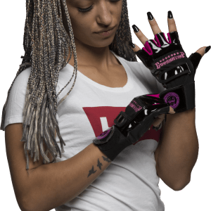 Weight Lifting Gloves For Women By Commando Camp - The Elite Black & Pink 2