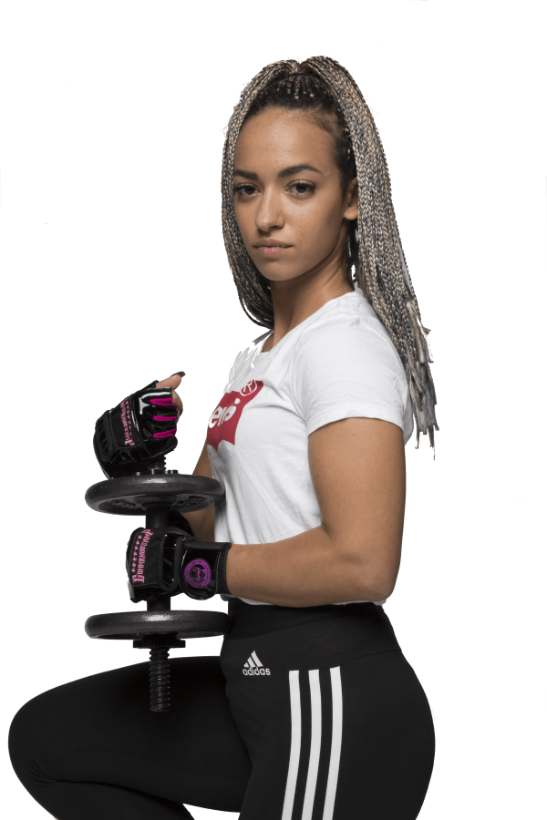 Weight Lifting Gloves For Women By Commando Camp - The Elite Black & Pink 3