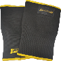 Weight Lifting Crossfit Knee Sleeves Black & Gold 3