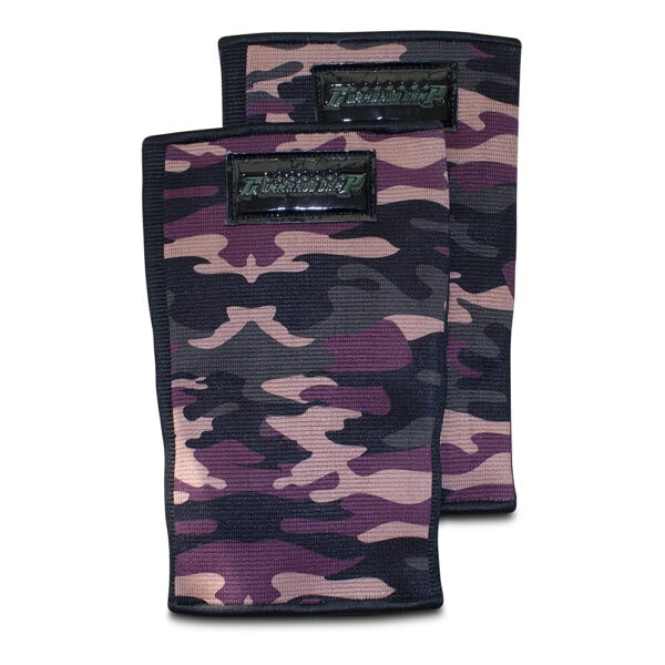 Weight Lifting Crossfit Elbow Sleeves Camo Green